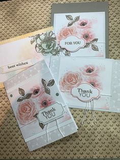 2019 April Paper Pumpkin Sentimental Rose- These are my finished cards from 2019 April Paper Pumpkin from Stampin Up! Source by babyjah - Card Making Tips, Making Ideas, Stampin Up Paper Pumpkin, Pumpkin Cards, Stamping Up Cards, Handmade Birthday Cards, Flower Cards, Cardmaking, Paper Crafts