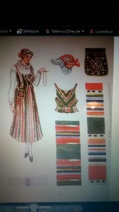 National costume from Ikaalinen