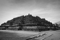 The magnificent Borobudur temple is the world's biggest Buddhist monument, an ancient site widely considered to be one of the world's seven wonders. Built in the 9th century during the reign of the Syailendra dynasty, the temple's design in Gupta architecture reflects India's influence on the region, yet there are enough indigenous scenes and elements incorporated to make Borobudur uniquely Indonesian.
