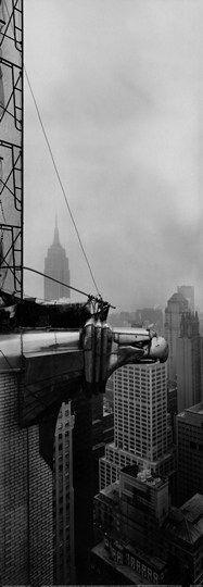 Chrysler Building - Eagle by Horst Hamann