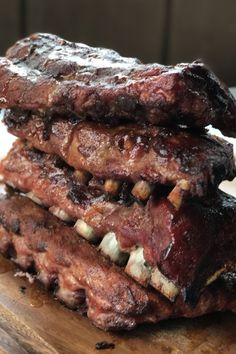 Stacked Ribs