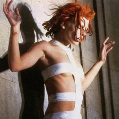 Mila in The Fifth Element...