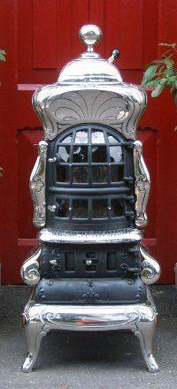 Vintage stoves at Ovne Stoves, Cork