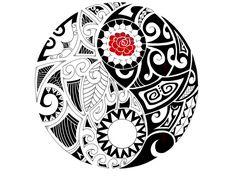 Maori Yin-Yang commission by IkaikaDesign on deviantART