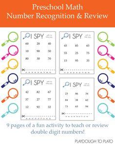 Number Recognition I Spy