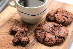 Chocolate Chocolate-Chip Cookies from David Liebovitz