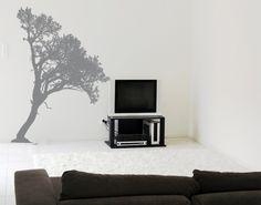 Wall Decal no.KP139 nice tree