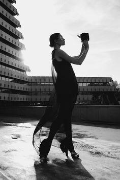 Fusion | Kristina Krivomazova | Svenja Pitz  #photography | UpTempo Magazine  I love the light vs. darkness thing they're doing here... #art