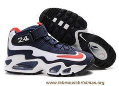 huge selection of 466d9 2b940 Pas Cher Nike Air Griffey Max 1 Navy Blanc Rouge Nike Air Jordans, Nike Air
