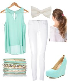 Mint and white - perfect