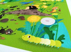 Meadow and Forest Prints on Behance