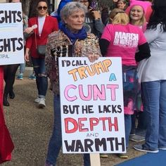 10+ Of The Best Signs From The 2018 Women's March