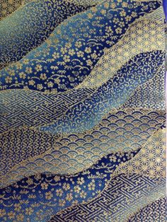 Patternatic — pearl-nautilus: Japanese fabric sample