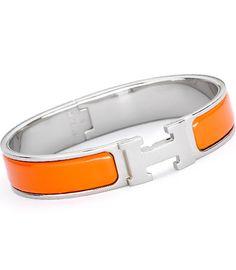 Hermes logo bracelet
