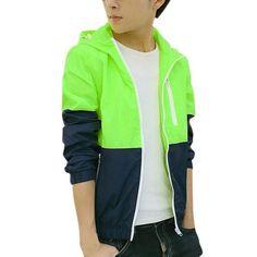Hot Selling Spring Autumn Men's Women's Summer Casual Jacket Hooded Jacket Fashion Thin Windbreaker Zipper Coats S-XXXL