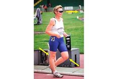 Racewalker in Single Support Phase of Stride Race Walking, Track And Field, Real Women, Competition, Coaching, Sporty, Running, Fitness, Career
