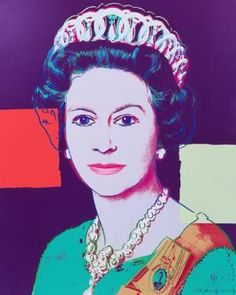 Queen Elizabeth II  Warhol,Andy oil painting reproduction