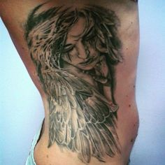 cry angel tattoos