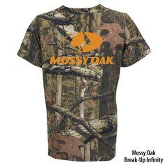 Mossy Oak Mens Camo Short-Sleeve Logo Tee - Gander Mountain