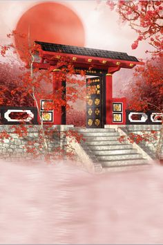 5x7ft Photography backdrops150x220cm chinese style building red moon photography back drops fabric backdrop  5712-in Background from Consumer Electronics on Aliexpress.com | Alibaba Group