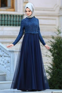 nevastyle abendkleid petrol blue hijab dress 2 - The world's most private search engine Prom Dresses Long Modest, Muslim Evening Dresses, Muslim Dress, Wedding Dresses, Hijab Dress Party, Hijab Style Dress, Casual Dress Outfits, Designer Cocktail Dress, White Cocktail Dress