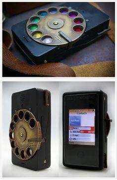 very weird cellphone