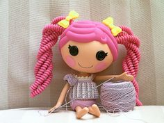 Lalaloopsy WIP by biscuitbear, via Flickr