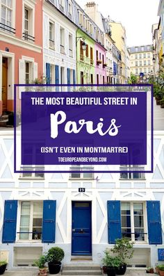 I Found The Most Beautiful Street In Paris And It's Not In Montmartre via @marievallieres