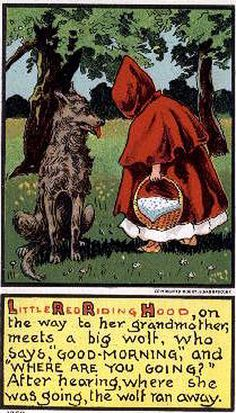 Great Little Red Riding Hood illustration