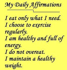 Learn more about >> Do Daily Affirmations Work? Mantra, Morning Affirmations, Daily Affirmations, Healthy Affirmations, Motivational Affirmations, Quick Weight Loss Tips, Ways To Lose Weight, Reduce Weight, Losing Weight