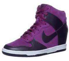 Nike Sportswear DUNK SKY HI Keilstiefelette lila auf shopstyle.de