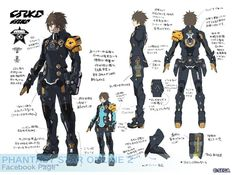 pso2 character concept - Google Search