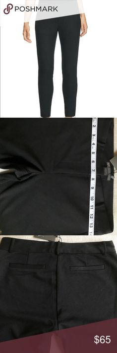 Armani Exchange pants Armani Exchange Ankle Zip Knit Pants.Zip fly with hook and button,two decorative back pockets.ankle zippers,72%polyester,23%rayon 5%spandex, A/X Armani Exchange Pants Leggings