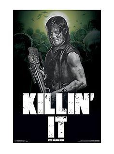 The Walking Dead Daryl Killin' It Poster,