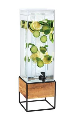 Item: 3561-3-99 3561-3INF-99 Madera Acrylic Beverage Dispenser