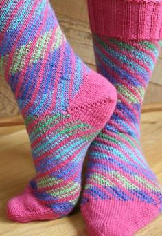 Socks of a Different Stripe