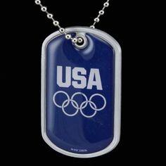 USA Olympic Team Dog Tag