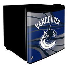Vancouver Canucks NHL Dorm Room Refrigerator