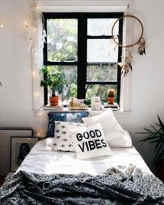 "When you look through your saved pins and realize most if them have that one pillow that says: ""Good Vibes"". Lol"