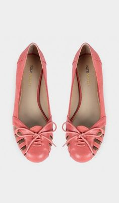 Leather flats - Meredithe - Umber   WANT