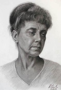 Pencil Portrait Sketches | PAINTINGS GALLERIES: PENCIL PORTRAITS: Drawing Eyes, Nose and Lips