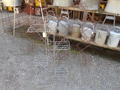 heaths old wares collectable industrial antiques, 12 station st bangalow nsw 2479 ph 66872222 vintage wire plant stands for sale Plant Stands, Broadway, Therapy, Industrial, Wire, Antiques, Phone, Garden, Plants