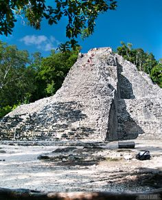 Fancy yourself as Indiana Jones? Check out the Coba ruins in Riviera Maya!