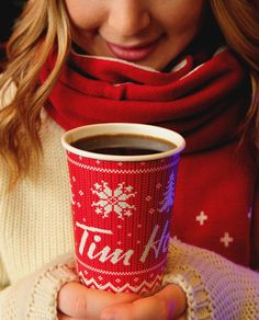In Canada, we don't have Dunkin Donuts, we drink Tim Horton's! This is one stereotype that is absolutely true, at least for me. Timbits Recipe, Tim Hortons Coffee, Canadian Christmas, Yearbook Covers, Coffee And Donuts, Pay It Forward, Best Coffee, Coffee Coffee, Christmas Coffee