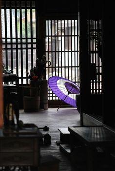 Japan - Bangasa umbrella in shop