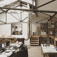 WORKSTEAD (@workstead) Interior Design, Studio, Bed, Table, Workspaces, Lofts, Offices, Furniture, Bohemian