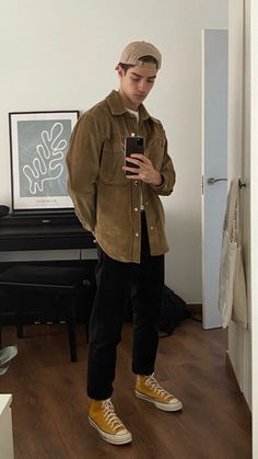 Hommes Grunge, Indie Men, Indie Fashion Men, 90s Outfit Men, Aesthetic Grunge Outfit, Vetement Fashion, Stylish Mens Outfits, Outfits With Converse, Estilo Retro