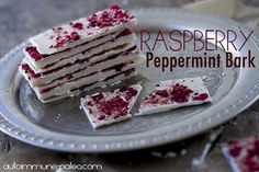 Raspberry Peppermint Bark - Autoimmune Paleo