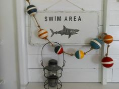 Nautical Buoys on a Rope. Nautical Decor. Under by searchnrescue2, $40.00