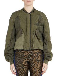 HAIDER ACKERMANN Long Sleeve Cotton Jacket. #haiderackermann #cloth #jacket